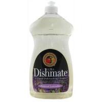 Earth friendly dishmate ultra liquid dishwashing cleaner, natural lavender - 25 oz, 6 pack