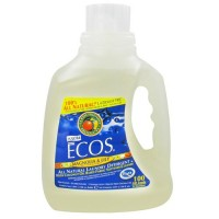 Earth friendly ecos 2x ultra laundry detergent, magnolia and lily - 100 oz,  4pack