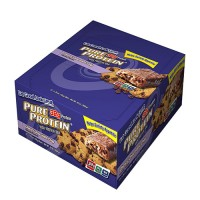 Pure protein chewy chocolate chip with high bar - 2.75 oz, 12 pack