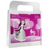 Lunastar play makeup kit queen fairy  -  50 grms ,6 pack