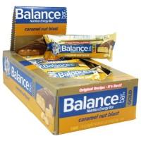 Balance nutrition energy bar gold caramel nut blast -1.76 oz