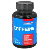 Prolab nutrition - caffeine tablets 200 mg. - 100 Tablets