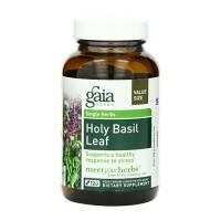 Gaia Herbs Holy Basil Leaf Liquid Phyto Capsules , stress response - 120 ea