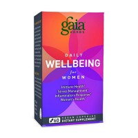 Gaia Herbs Daily Wellbeing Supplement for Women, immune health - 60 ea