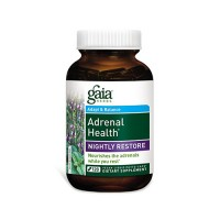 Gaia Herbs Adrenal Health Nightly Restore Supplement, adrenal health - 120 ea
