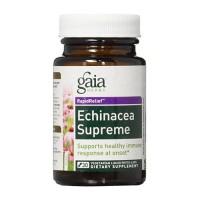Gaia Herbs  Echinacea Supreme Liquid Phyto Vegetarian Capsules, immune response - 30 ea