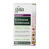 Gaia Herbs Echinacea Goldenseal Liquid Phyto Capsules, immune and repiratory response - 60 ea