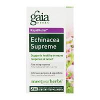 Gaia Herbs Echinacea Supreme Liquid Phyto Capsules, immune response - 60 ea
