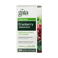 Gaia Herbs Cranberry Concentrate Liquid Phyto Capsules, urinary tract health - 60 ea