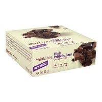 ThinkThin high protein bars chocolate fudge - 2.1 oz, 10 pack