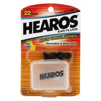 Hearos 309 rock n roll ear plugs nrr22 - 2 ea