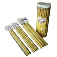 Cylinder works herbal beeswax, ear cone candles - 50 ea, 1 pack