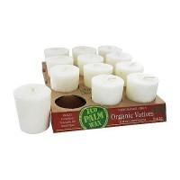 Aloha Bay Votive Organic White Candle - 2 oz, 12 ea