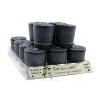 Aloha Bay Votive Perfume Blend Rendezvous Candle - 2 oz, 12 pack