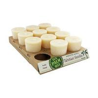 Aloha Bay Nature Scented Candle Tahitian Vanilla 2 oz - 12 pack