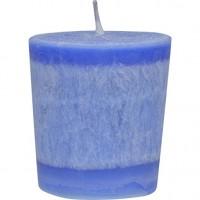 Aloha bay eco palm wax holy temple votive candles - 1 ea ,12 pack