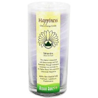 Aloha Bay Happiness Chakra Energy Candle Jar - 11 oz