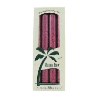 Aloha Bay Palm Tapers Burgundy 9 inches Candles, Unscented - 4 ea