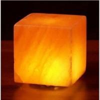 Himalayan salt cube salt lamp USB 3 inch by aloha bay - 1 ea