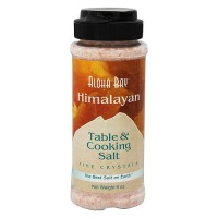 Aloha Bay Himalayan Table and Cooking Salt, Fine Crystals - 6 oz