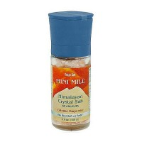 Aloha Bay Himalayan Crystal Salt Mini Mill with Grinder - 3.5 oz