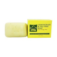 Nubian Heritage Bar Soap Lemongrass and Tea Tree - 5 oz