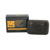 Nubian heritage african black bar soap, deep cleaning - 5 oz