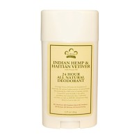 Nubian indian hemp and haitian vetiver 24 Hour all natural deodorant - 2.25 oz