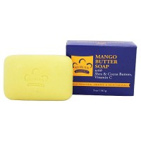 Nubian Heritage Bar Soap, Mango Butter With Honey and Cornmeal - 5 oz