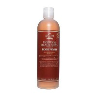 Nubian Heritage Body Wash Honey and Black Seed - 13 oz
