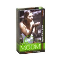 Moom natural face and bikini wax strips for all hair types - 20 ea