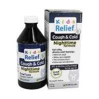 Homeolab USA Kids Relief Cough and Cold Nighttime Formula - 8.5 Oz