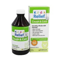 Homeolab USA - Kids Relief Cough and Cold Syrup - 8.5 Oz