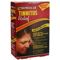 Homeolab tinnitus relief safe and effective chewable tablets, 63 ea
