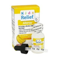 Kids relief allergy oral solution, banana flavor - 0.85 oz