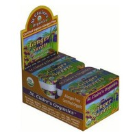 St claires organics ginger pastilles herbal sweets - 1.5 oz, 6 pack