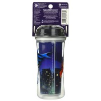 Playtex sipsters super friends sport spout sippy cups - 2 ea