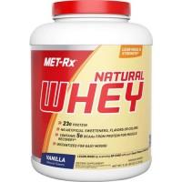 Met-rx - 100% natural whey vanilla - 5 lbs