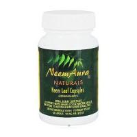 Neem Aura Naturals Organic Neem Leaf Vegetarian Capsules - 60 ea