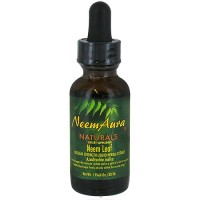 Neem Aura Naturals Neem Leaf Regular Strength Liquid Extract - 1 oz
