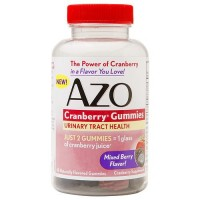 Azo Cranberry Gummies Mixed Berry Flavor - 40  ea