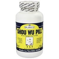 Dr. Shens Shou Wu Pill Youthful Hair 700 mg Tablets - 200 ea