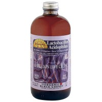 Dynamic Health Lactobacillus Acidophilus Liquid, Black Cherry - 16 oz