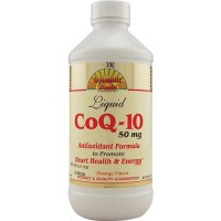 Dynamic health coq-10 liquid orange 50 mg - 8 oz