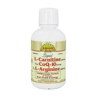 Dynamic Health Liquid 1000 Mg L-Carnitine with CoQ-10 25 Mg plus 1000Mg L-Arginine - 16 oz
