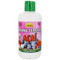 Dynamic Health organic certified acai juice blend - 33.8 oz