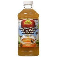 Dynamic health labs apple cider with mother and natural honey supplement - 16 oz
