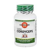 Mushroom Wisdom Super Cordyceps, Vegetable Tablets - 120 ea