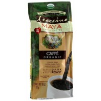 Teeccino herbal coffee maya caffe organic, dark roast - 11 oz,  6pack
