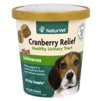 Naturvet - cranberry relief plus echinacea - 60 soft chews
